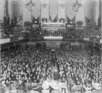 Ulster Unionist Women's Council meeting, Ulster Hall, Belfast, 18 January 1912. (Ulster Museum Collection)