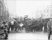 Anti-suffrage demonstration in Strabane, County Tyrone,c.1910.(Cooper Collection,PRONI)