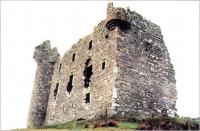 Monea Castle, County Fermanagh, was built in the aftermath of the Ulster plantation of 1609 and displays Scots Baronial architectural features.