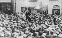 An election meeting in North Mayo.