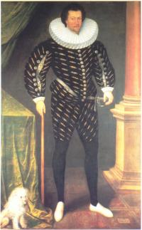 Sir William Russell,Lord Deputy 1594-97.(Courtesy of Woburn Abbey)