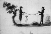 Fig.2 The chain and circumferentor were still the main tools of the trade in the 1750s.(Courtesy of the National Library of Ireland)