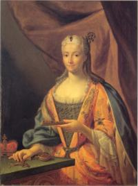 Priness Clementina Sobieska by unknown artist. (COURTESY OF THE SCOTTISH NATIONAL PORTRAIT GALLERY)