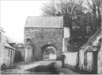 The Tholsel, Carlingford, County Louth, c.1900- reputed to have once been the town jail.