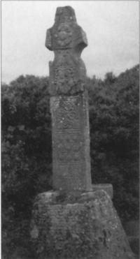 Plate 6: The Kinnitty high cross erected c.859 by Maelsechnaill, king of Tara.