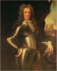 A portrait of gentleman, possibly Patrick Sarsfiled, Earl of Lucan. Attributed to Jon Riley. (courtesy of The National Gallery of Ireland)