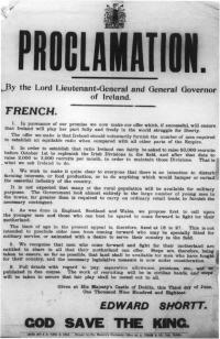 Conscription poster(Courtesy of National Library of Ireland)