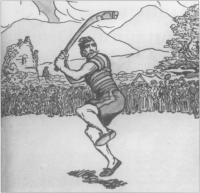'The Hurley Player' by Jack B. Yeats