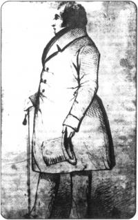 Lt. Colonel William Blacker, from the Dublin University Magazine (1841).