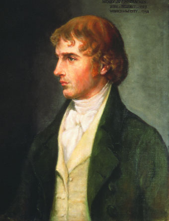 Henry Joy McCracken by Sarah Cecilia Harrison. (Ulster Museum)