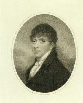 Thomas Moore as a student. (National Library of Ireland)