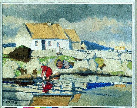 Charles Lamb irish artist