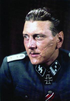 Otto Skorzeny, the man who sprung Mussolini from Allied captivity, one of the lesser Nazis who found refuge in Ireland. (National Archives, UK)