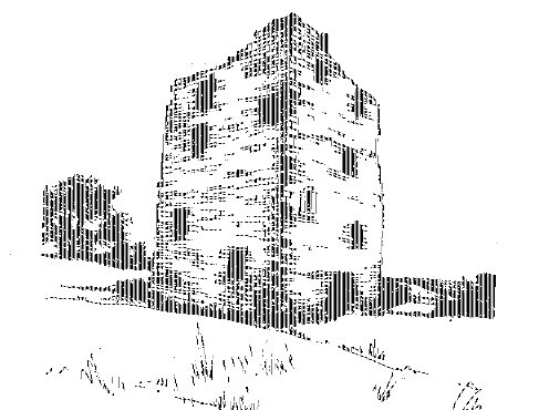 The ruins of the tower-house at Castlerea, abandoned by the south Longford branch of the Farrells in the 1640s. (Loretto Cooney)