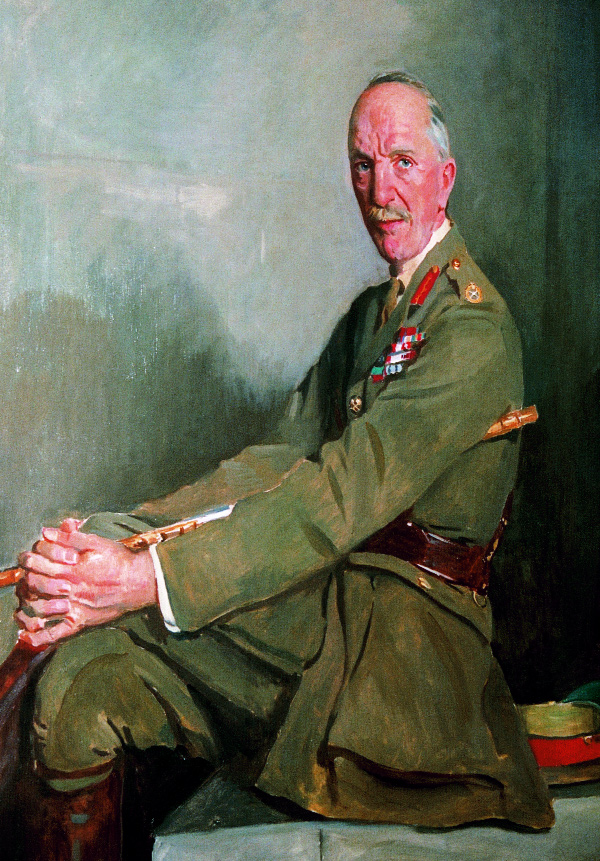 Field Marshal Sir Henry Wilson-the trigger for civil war was his assassination on 22 June 1922. (Belfast City Council)