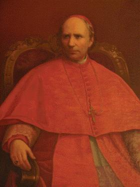 Paul Cullen, later archbishop of Dublin and cardinal. During his seventeen-year rectorship the Irish College expanded and student numbers doubled. (Pontifical Irish College, Rome)