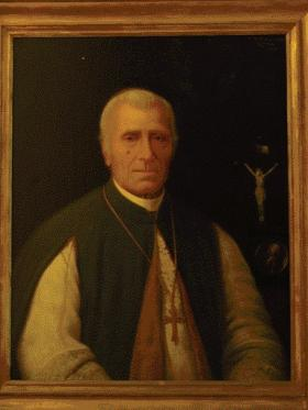 Tobias Kirby—as a former classmate and friend of Pope Leo XIII he was sure to find open doors at the Vatican. (Pontifical Irish College, Rome)