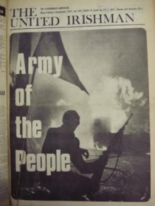 Front cover of September 1971's The United Irishman. Note that it's a different photograph, taken from a slightly different angle.