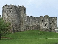 Chepstow Castle—Isabel and William's Welsh power base. (Jeff Thomas)