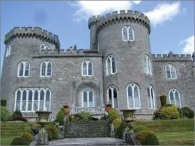 Killymoon Castle, Co. Tyrone, has been labelled 'Norman Revival' and certainly has Norman details but falls far short of the 'spirit and meaning' required for Norman Revival. (Marion McGarry)