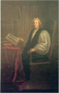 Portrait of Archbishop Marsh, attributed to Hugh Howard.(Courtesy of March's Library)