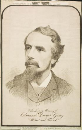 Edmund Dywer Gray took over the newspaper in 1875.