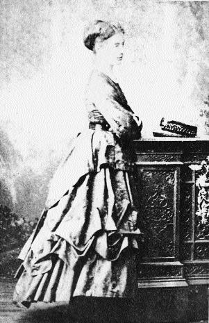 Anna, photographed by Henry O'Shea, Limerick (c. 1878).