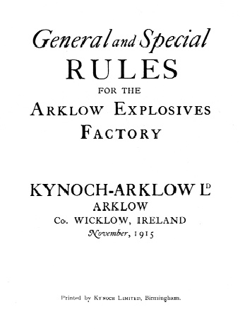 When the factory went into war production the workers were issued with this rulebook, briefly outlining general safety regulations. Nevertheless, the number of injuries increased to the point where it was necessary to open a hospital. (Birmingham City Archive)