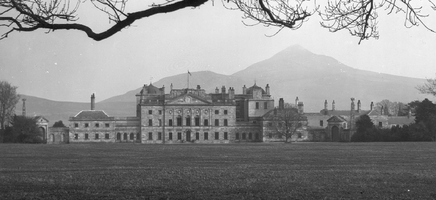 Powerscourt Estate, Co. Wicklow-Daly became rector of the parish in 1814. (National Library of Ireland)