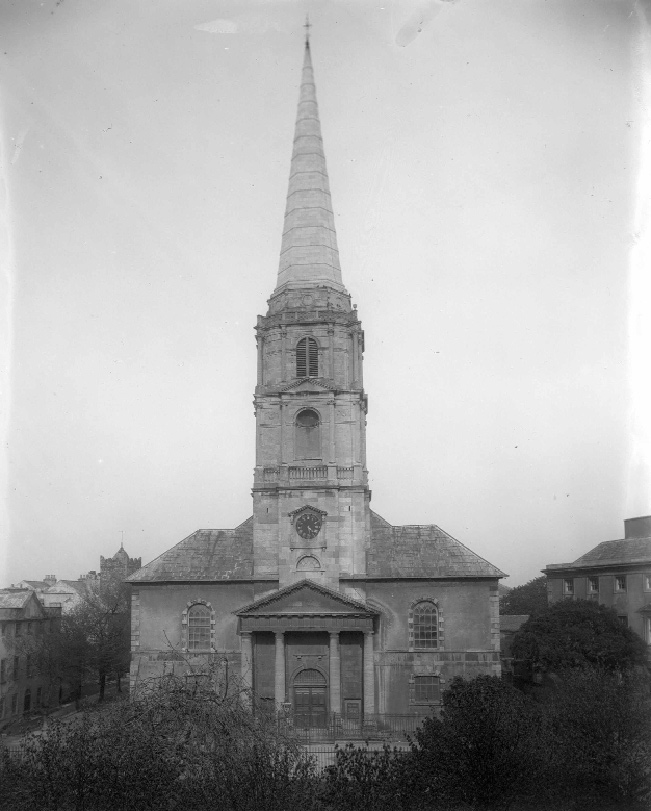 Christ Church Cathedral, Waterford. (National Library of Ireland)