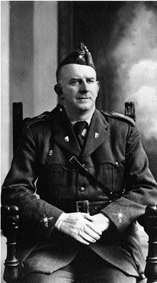 General Eoin O'Duffy in Irish Brigade uniform. (Monaghan County Museum)