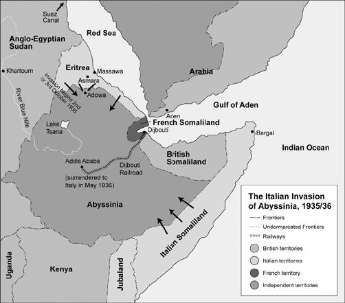abyssinian crisis The abyssinia crisis was a crisis in the 1930s originating in the so-called walwal incident in the ongoing conflict between the kingdom of italy (regno d'italia) and the empire of ethiopia (then commonly known as abyssinia in europe.