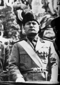 Benito Mussolini-it is doubtful if he ever considered O'Duffy's request very seriously.