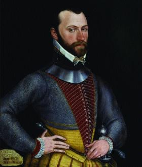 Sir Richard Bingham, appointed president of Connacht in 1584—'The Irish were never tamed with words but with swords'. (National Portrait Gallery, London)