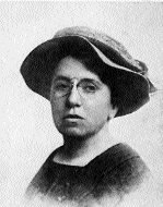 Anarchist Emma Goldman-O'Neill probably saved her from unjust execution in 1901. (Stephen Woods)