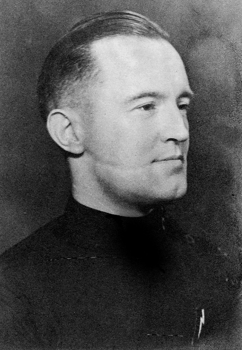William Joyce, alias Lord Haw-Haw-O'Reilly claimed to have been introduced to him on his first day at Rundfunkhaus in September 1941. (The Friends of Oswald Mosley)