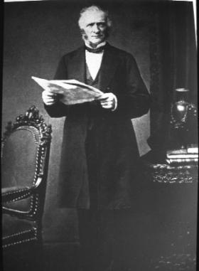 Jonathan Pim, joint secretary of the Central Relief Committee of the Society of Friends. He later collapsed from overwork. (Friends Historical Library)