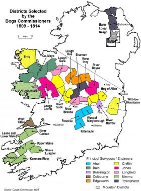 Map Of Ireland Midlands.History Ireland