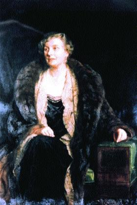 Dame Anne Louise McIlroy, from Ballycastle, Co. Antrim—the first woman Professor of Obstetrics and Gynaecology of the University of London at the Royal Free School of Medicine. (Royal Free and University College Medical School)