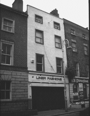 57 South William Street, Dublin-headquarters of the Central Relief Committee in its early months.
