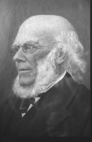 Richard D. Webb, who toured Mayo and Galway in May 1847 for the Central Relief Committee. (Friends Historical Library)