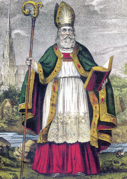 St Patrick the legend and the bishop 1