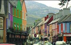 Kenmare town—a minor gem of landlord town-planning. (RTÉ Stills Library)
