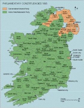 The 1885 and 1886 general elections in Ireland 1