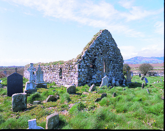 Templetown church near Carlingford, County Louth. (OPW)