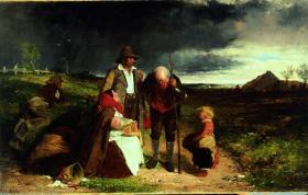 The Eviction, by Erskine Nicol, 1853. (National Gallery of Ireland)