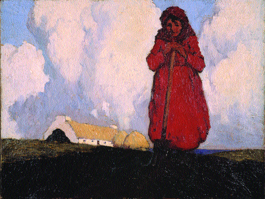 The Potato Digger by Paul Henry. (Ulster Museum)