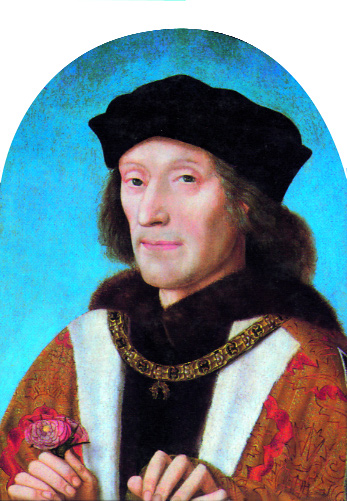 Henry VII by Michiel Sittow, 1505-he would not openly support Octavian. (National Portrait Gallery, London)