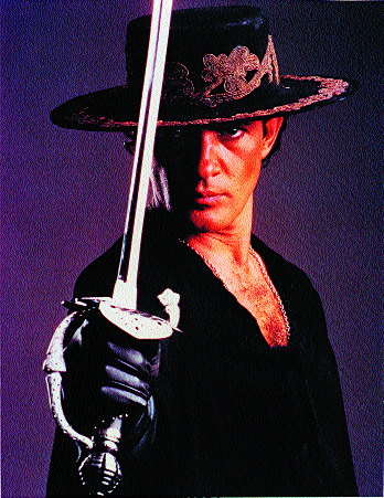 The Man Behind the Mask of Zorro