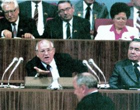 analysis of the significance of mikhail gorbachev politics essay Analysis: russia still lags on democracy 20 years  soviet leader mikhail gorbachev was seized at his  and are hazy about the significance of the.
